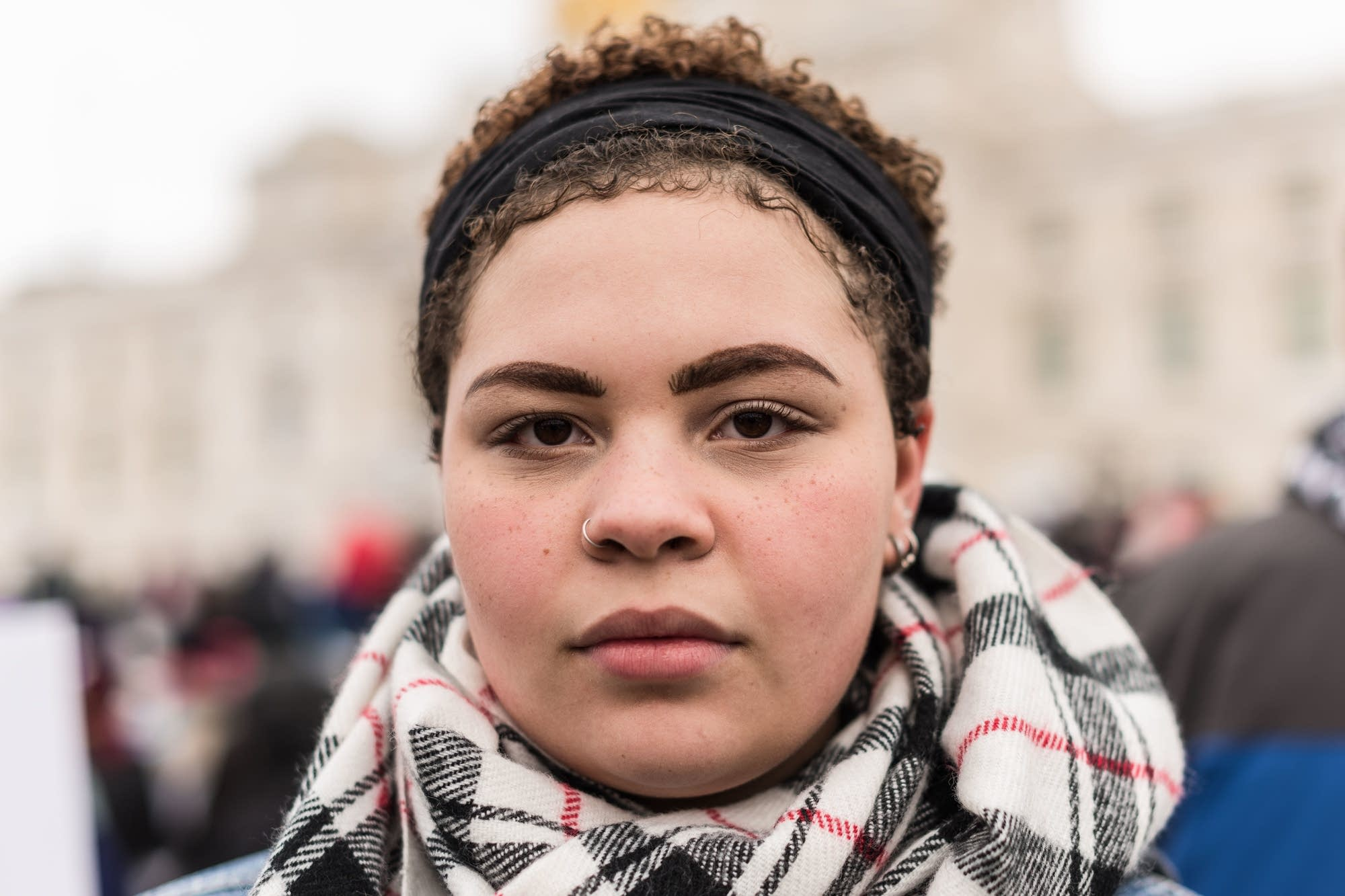 Jazmin Weidell, 18, from Woodbury High School