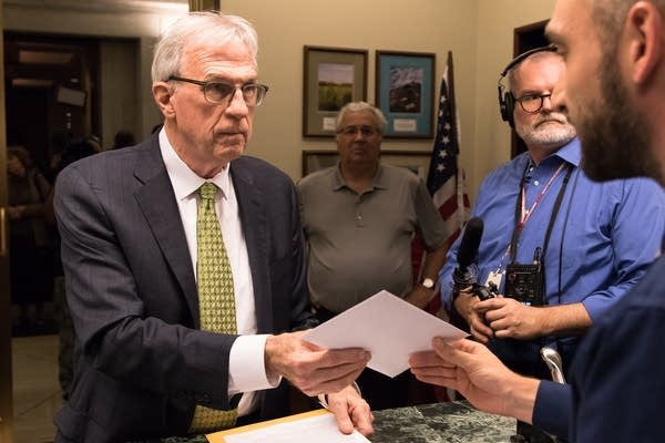 Tom Foley files to run for Minnesota attorney general.