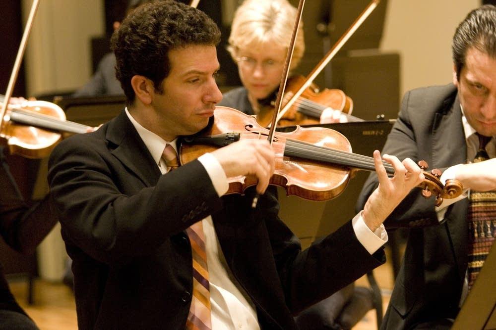 SPCO Concertmaster Stephen Copes
