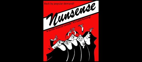 A poster for the off-Broadway show Nunsense