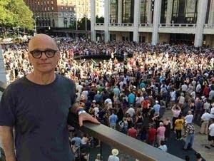 Composer David Lang at Lincoln Center