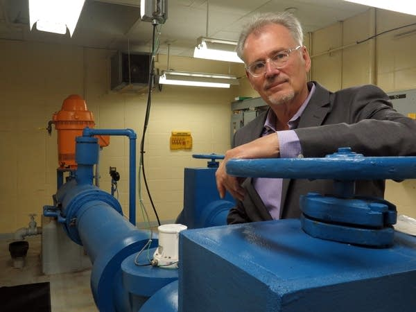 City Manager Pat Hentges says Mankato is trying to conserve aquifer water.
