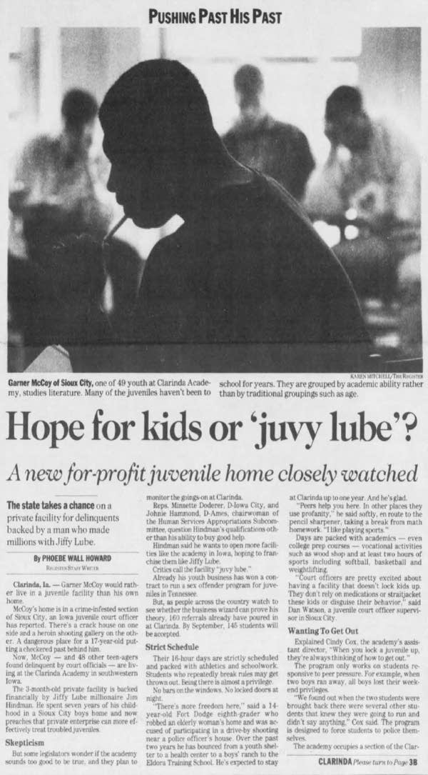Hope for kids or 'juvy lube'?