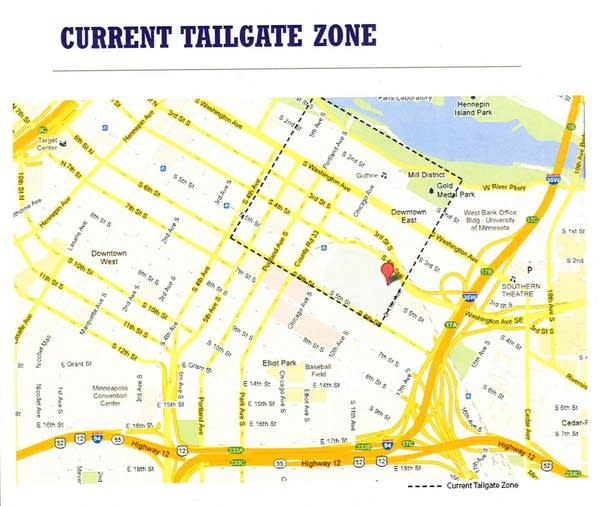Tailgate zone
