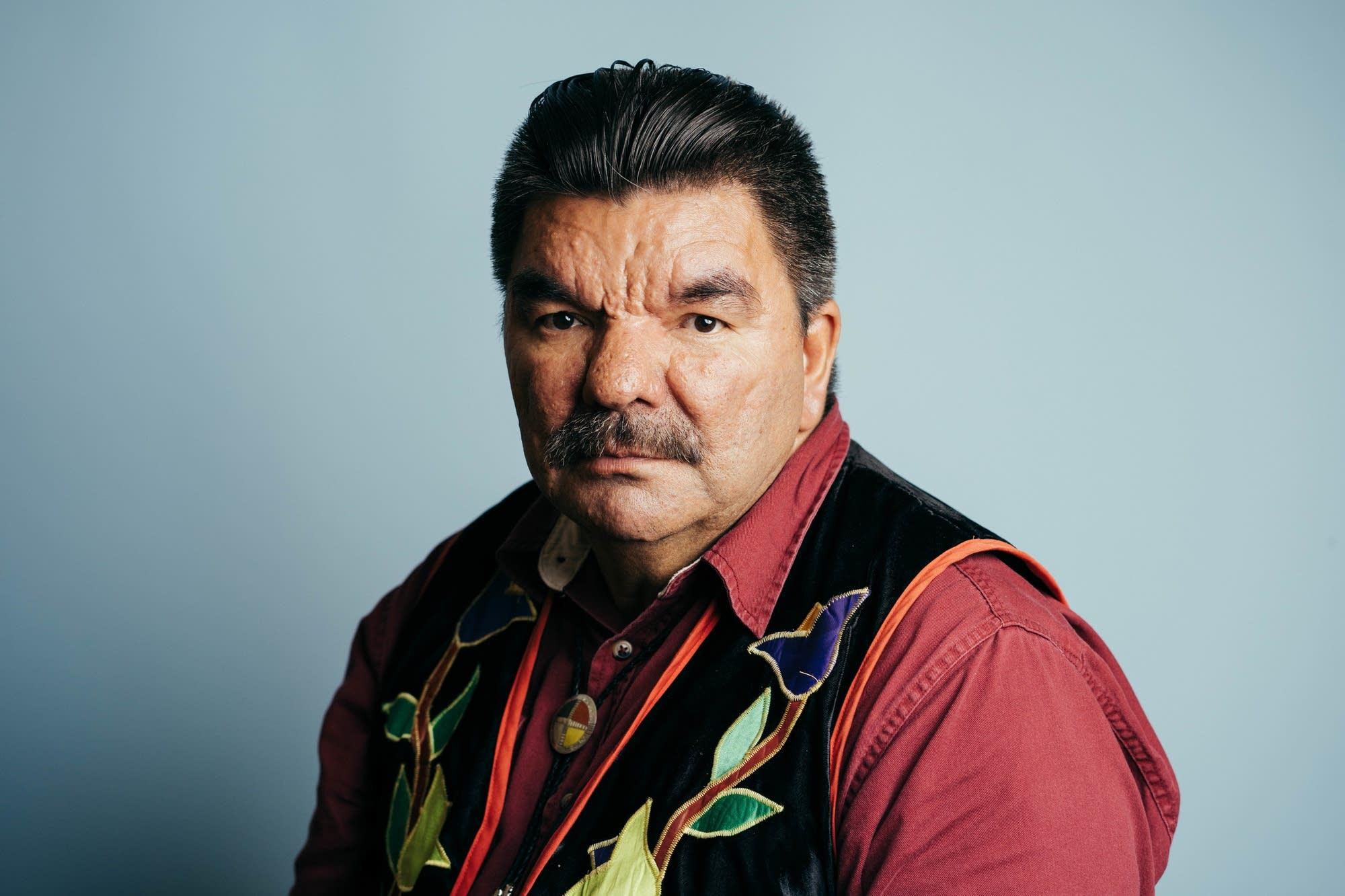 Ricky DeFoe of the Lynx Clan of Ojibwe
