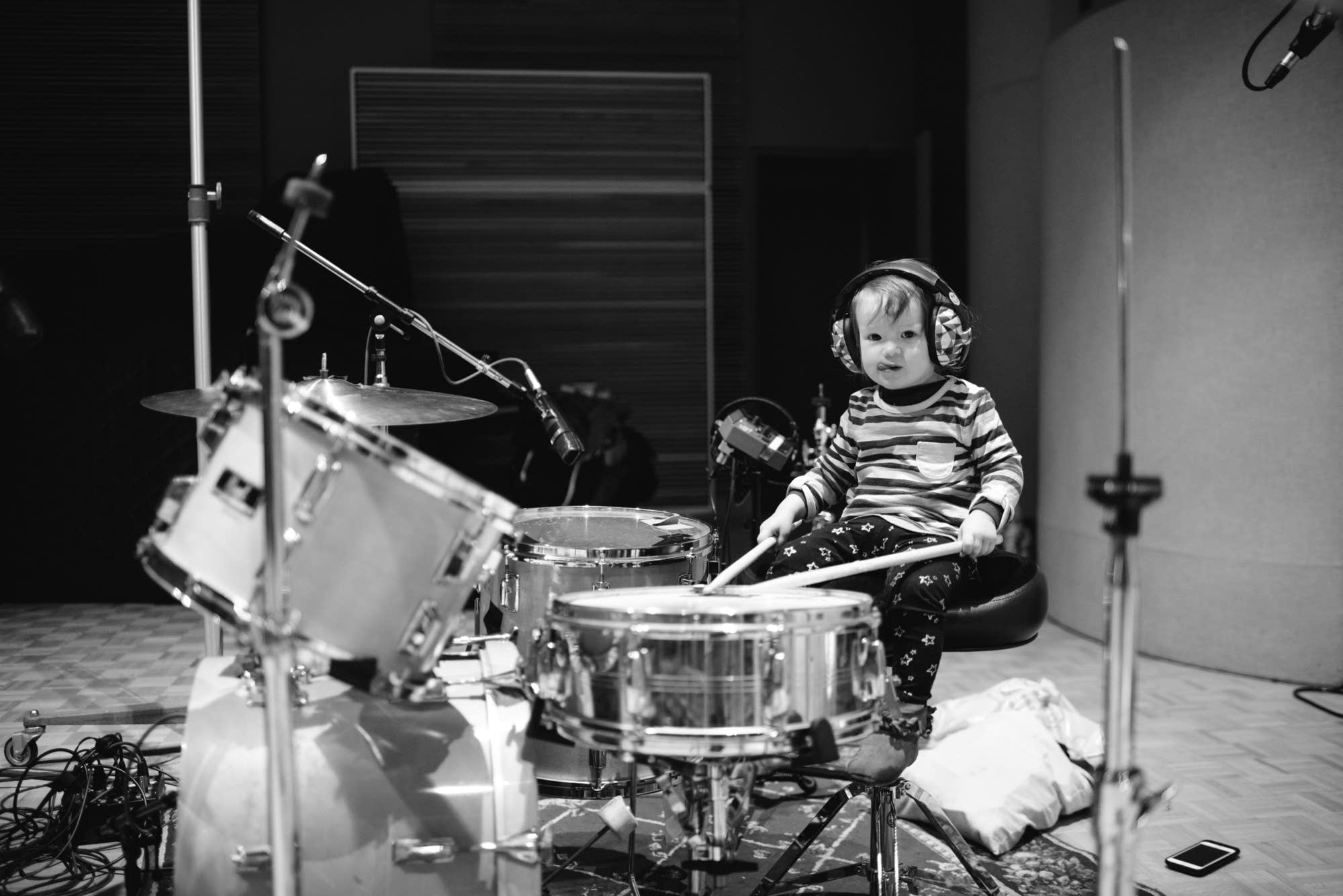 Deap Vally perform in The Current studio