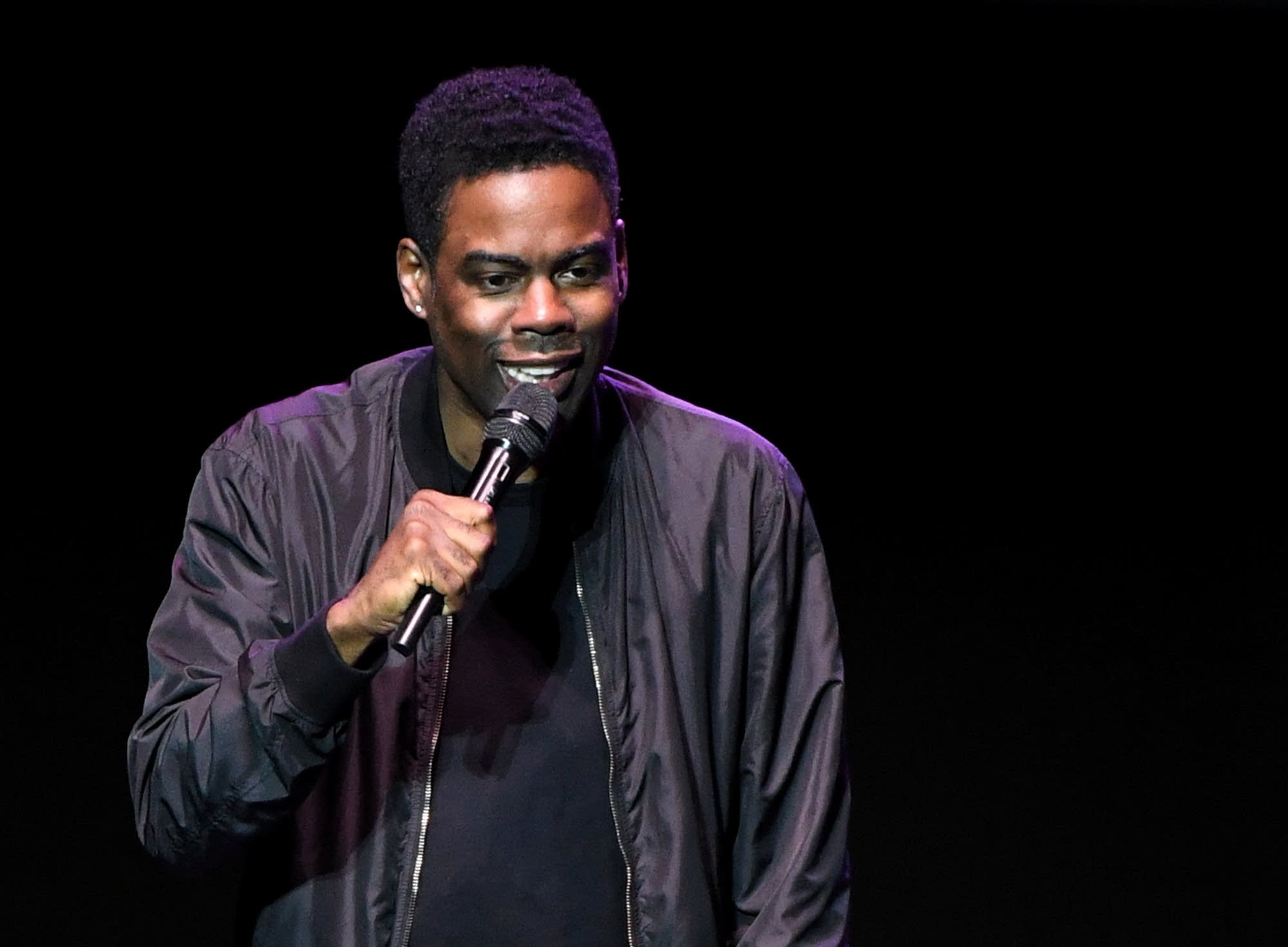 Actor and comedian Chris Rock