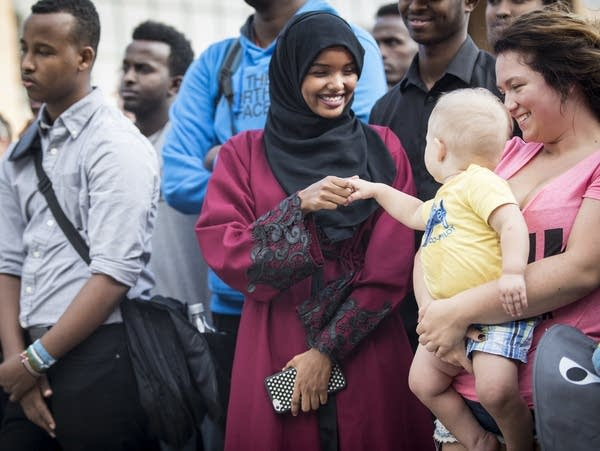 Halima Aden, Jayse Waisanen and Danyelle Hoff