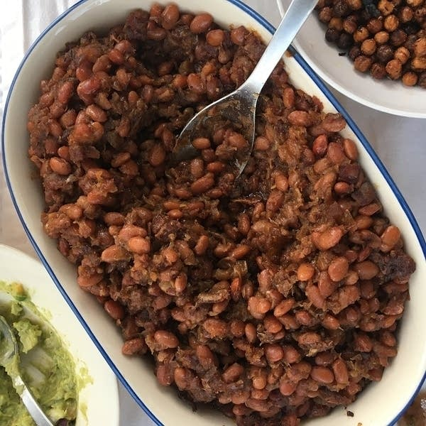 Caramelized Baked Beans