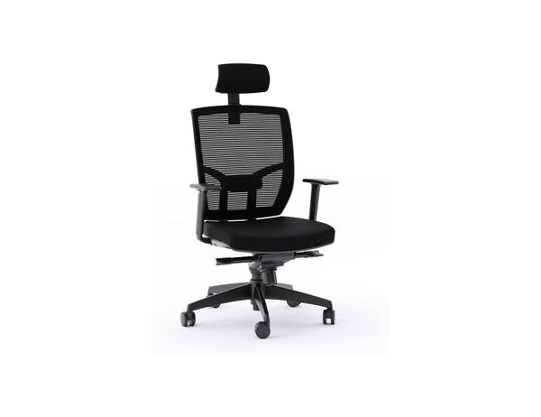 A modern office chair that Andrew doesn't want