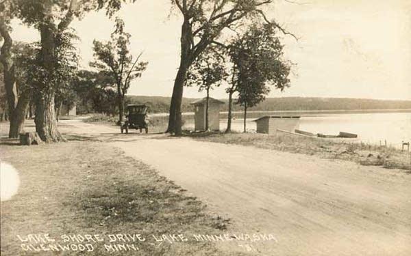 Lake Shore Drive, Lake Minnewaska near Glenwood