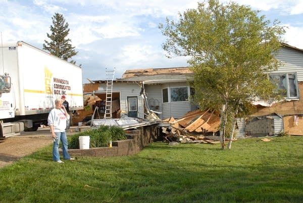 Albert Lea tornado destruction