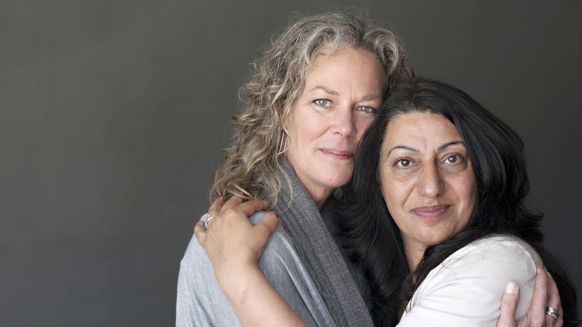 Karen Stoker and Eman Yassin