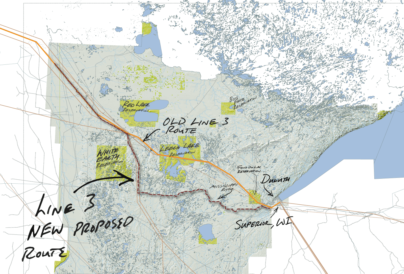 Enbridge Energy's proposed Line 3 replacement