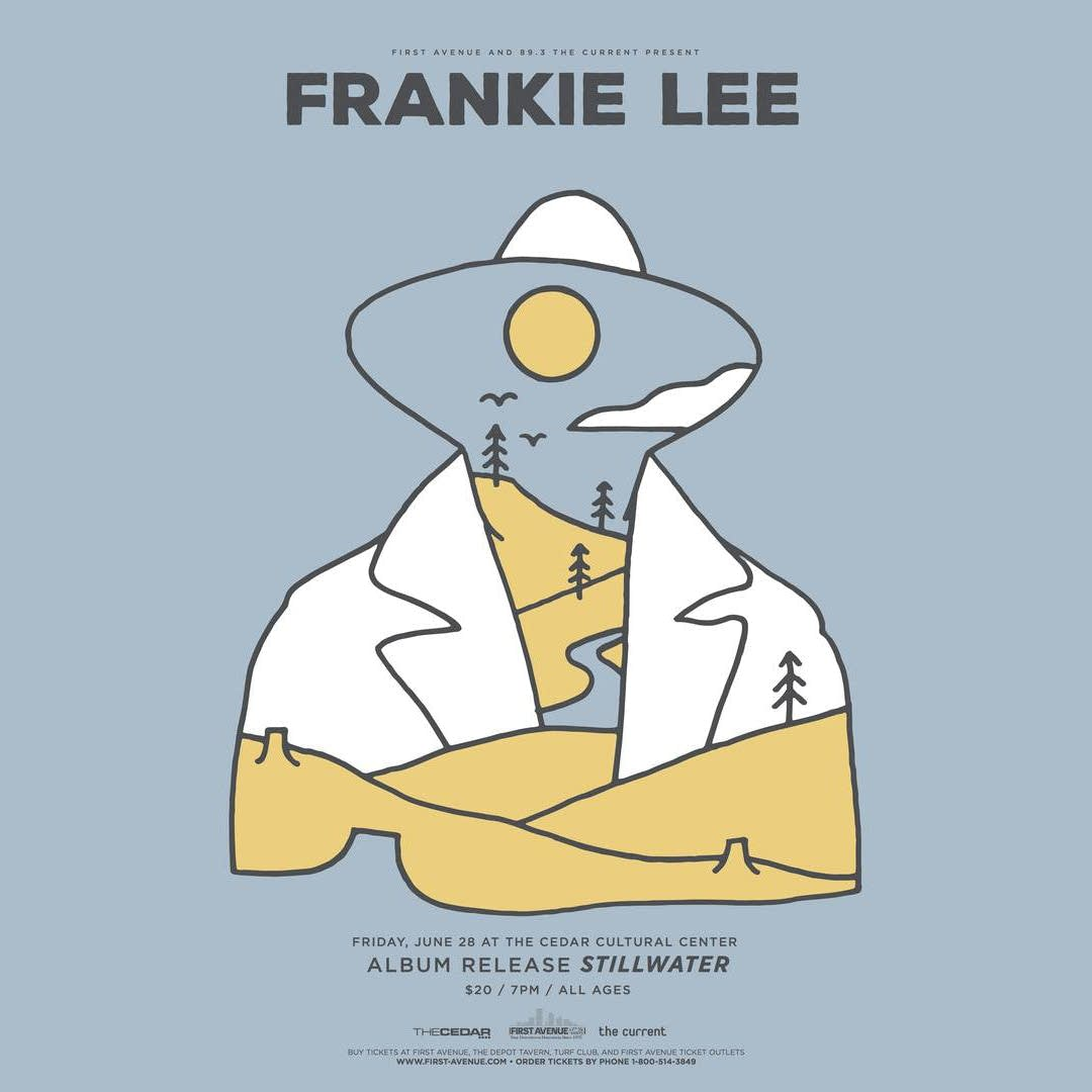 Frankie Lee - 'Stillwater' release show graphic