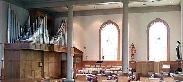 1995 Konzelman organ at Saint Anne's Church, Rochester, New York