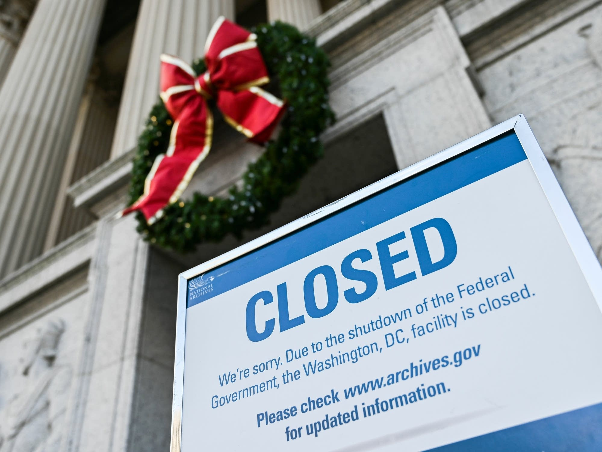 partial federal government shutdown