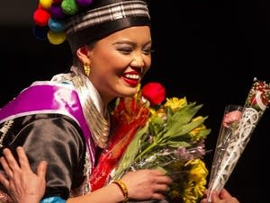 Hmong pageant contestant Padee Yang