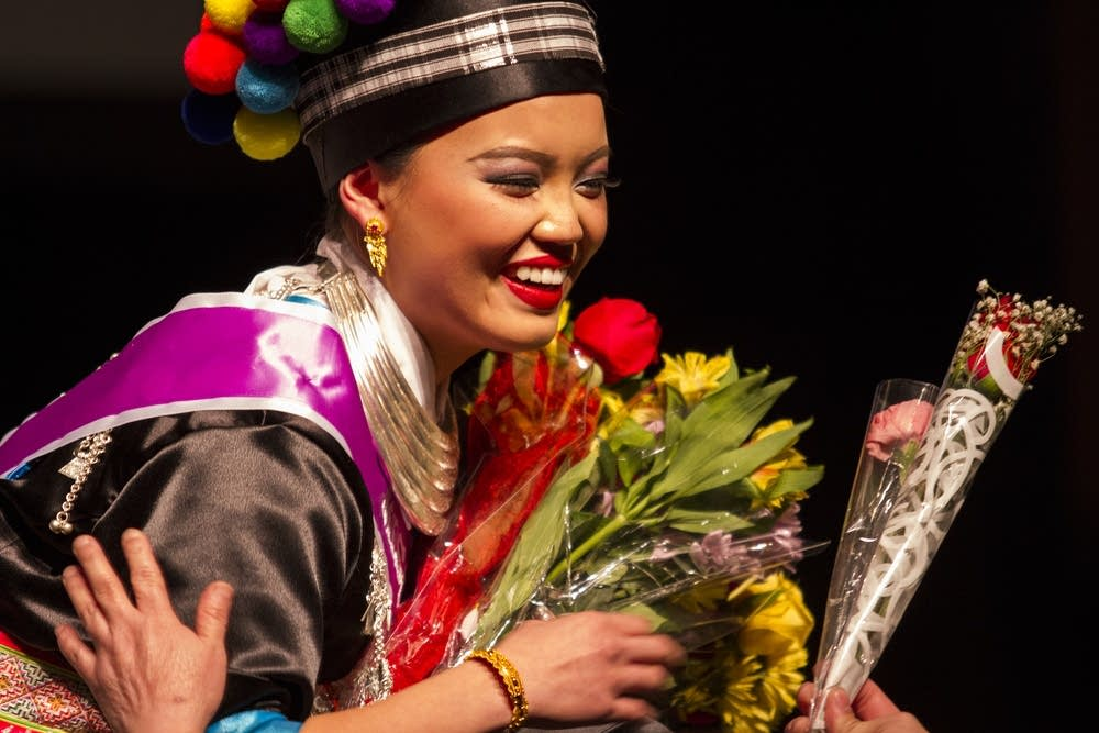 Hmong pageant contestant Padee Yang.