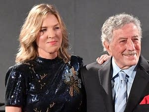 Tony Bennett and Diana Krall sing Gershwin on 'Love Is Here to Stay.'