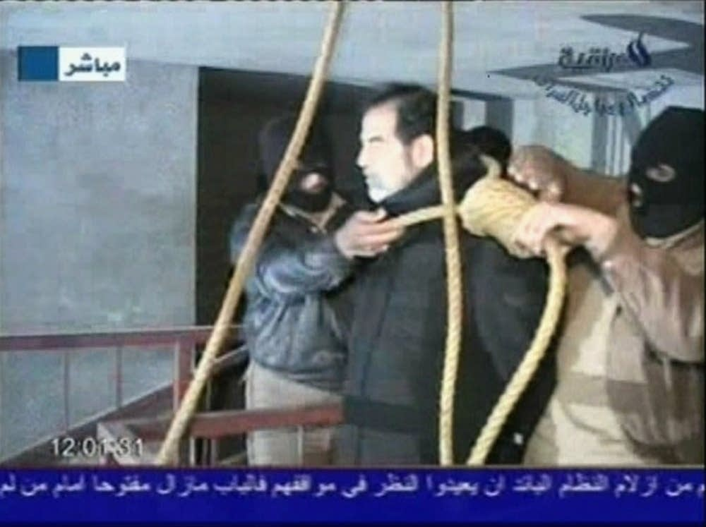 2006: Saddam Hussein is executed