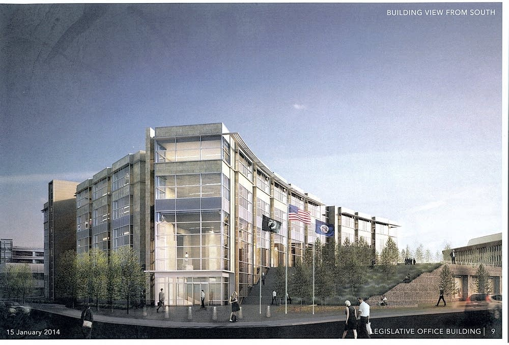 Senate Office Building rendering