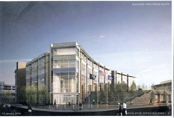 Senate Office Building rendering
