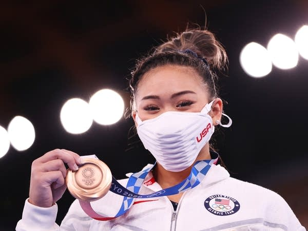 Uneven bars final at the Tokyo Olympics