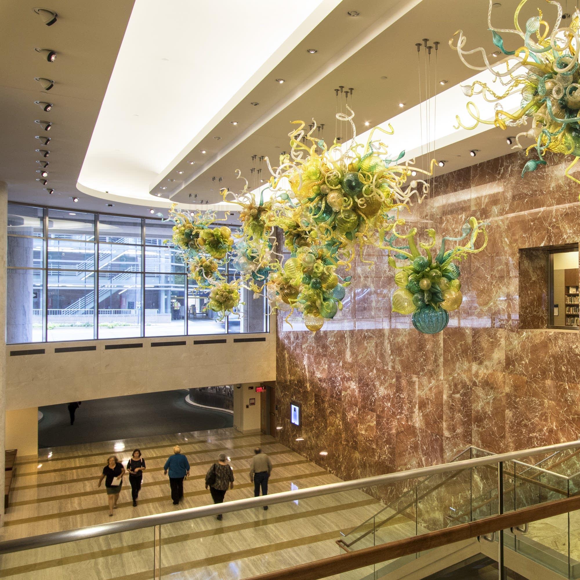 Photos: A walk through Mayo Clinic's healing art   MPR News