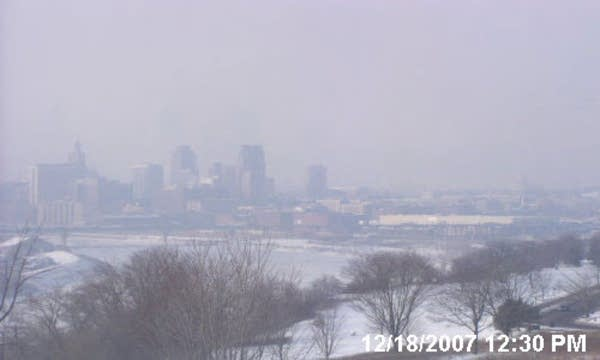 Haze in St. Paul