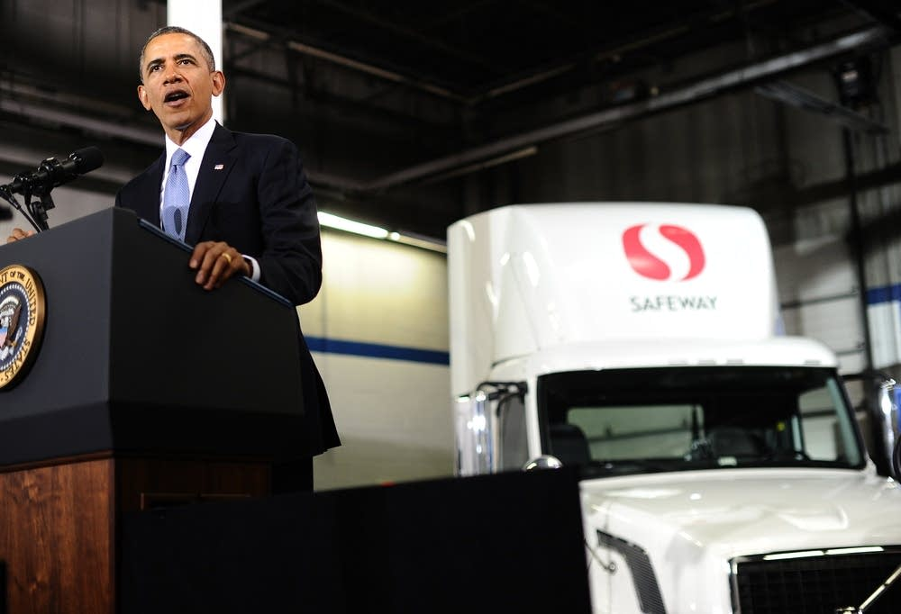 Obama fuel-efficient trucks