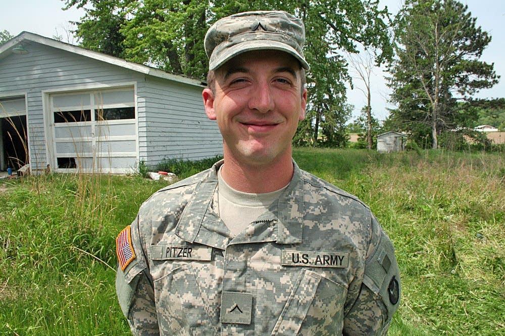 Pvt. Brian Pitzer