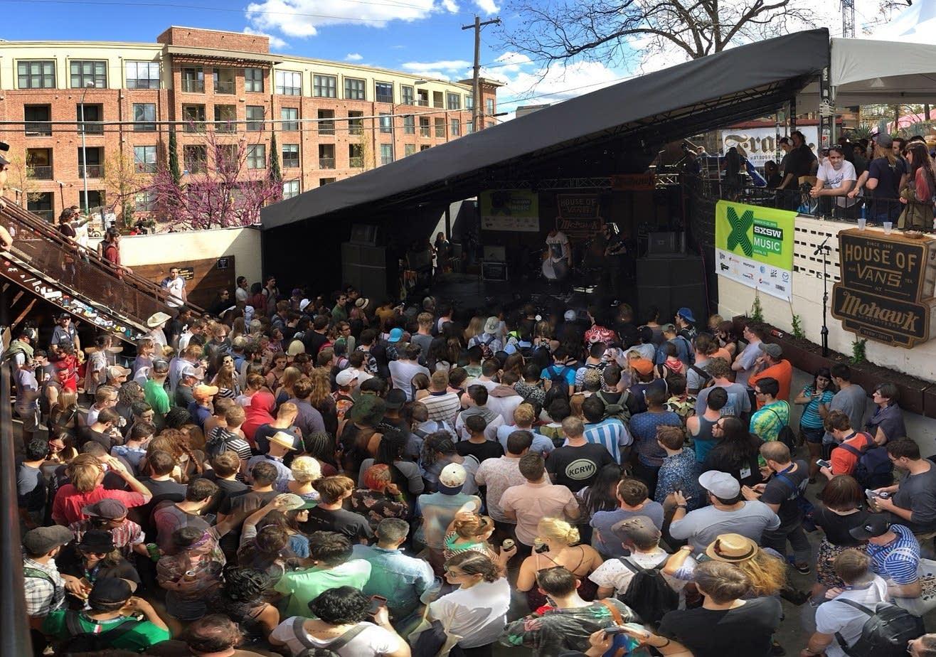 SXSW day stage