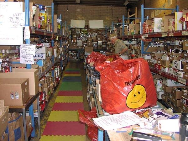 ICA food shelf in Excelsior