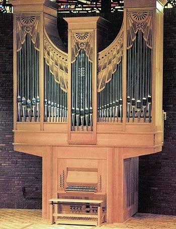 1985 Jaeckel organ at Concordia College