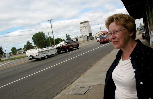 Royalton Mayor Andrea Lauer