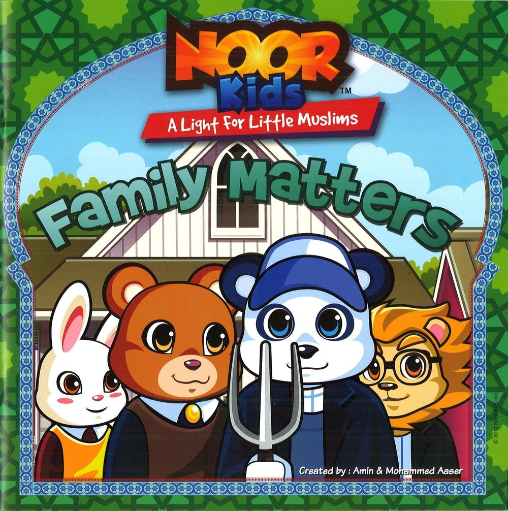Cover of the Noor Kids book,
