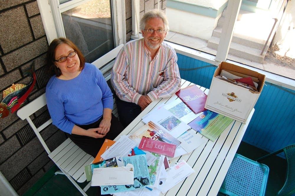 Marybeth Neal and Paul Landskroener