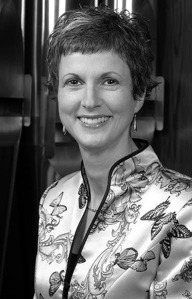 Valerie Hall, President of the Royal Canadian College of Organists