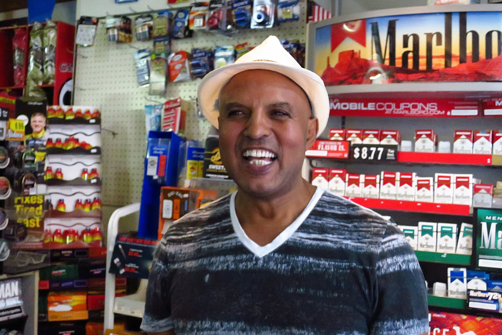 Mike Tekeste, owner of Red Sea Market