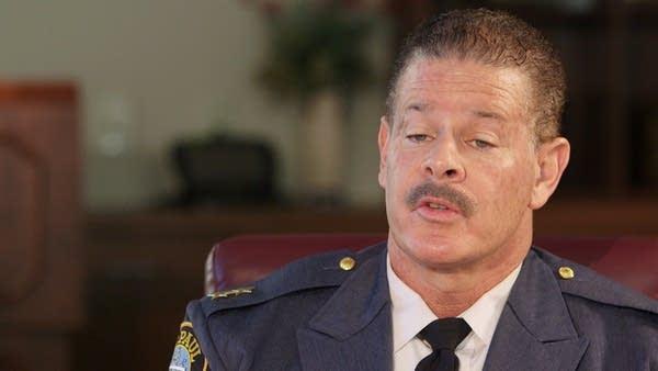 St. Paul Police Chief Tom Smith