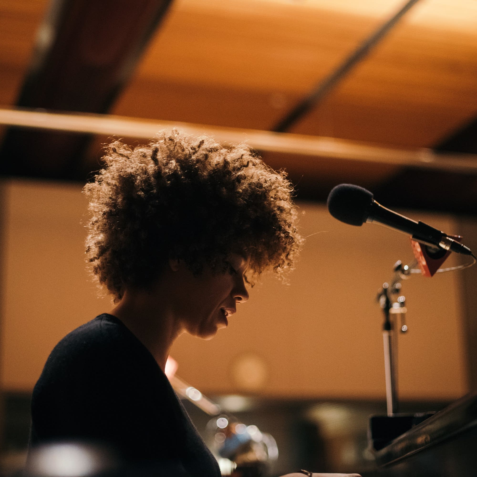Chastity Brown performs in The Current studio