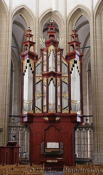 1999 Reil organ in the Bovenkerk, Kampen, The Netherlands