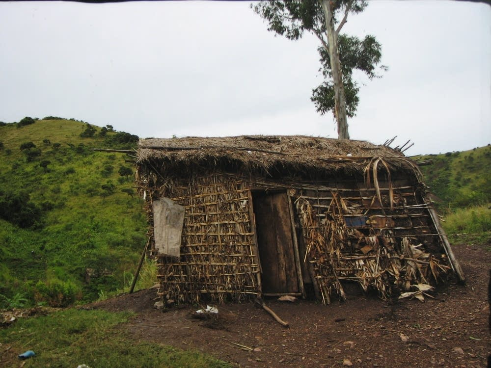 A small shack in Uganda