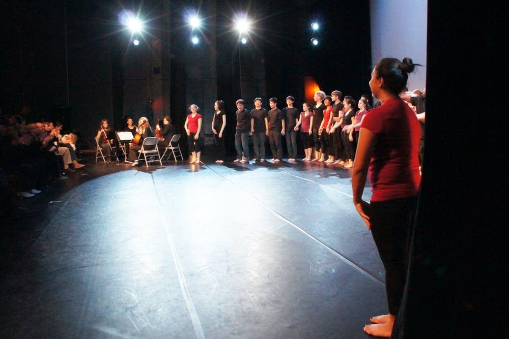 Dance cast