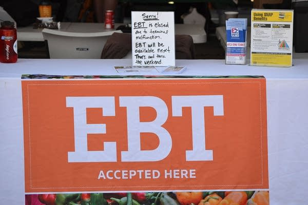 Food stamps at Farmers Market