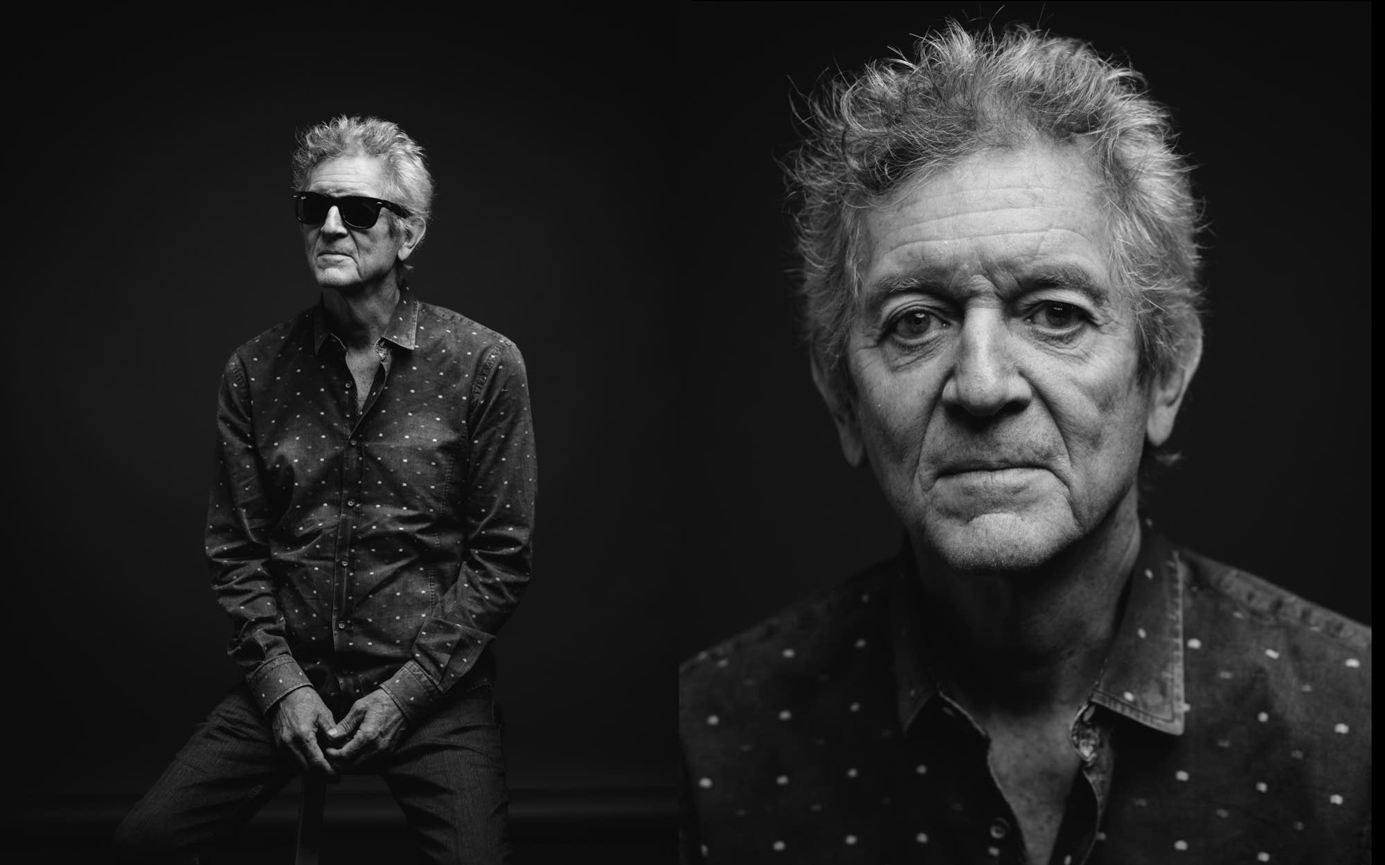 Rodney Crowell performs in the studio