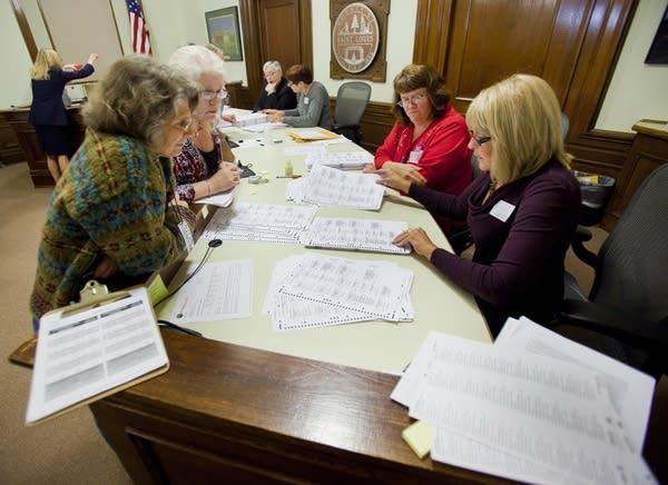 Sorting ballots