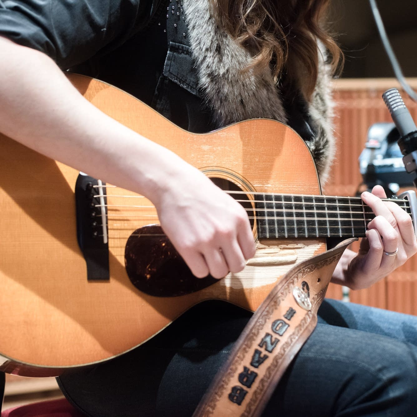 Brandi Carlile's Collings guitar