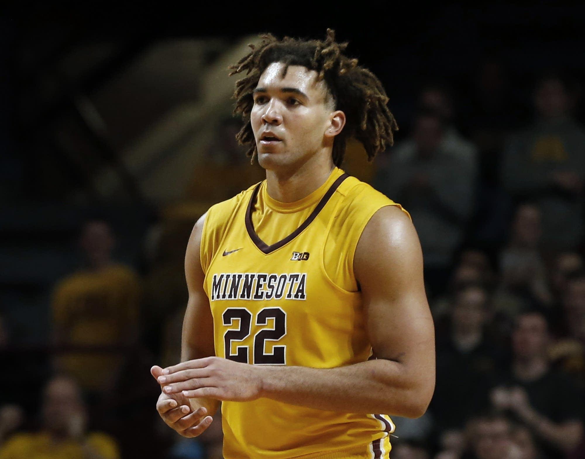 Reggie Lynch Still on Minnesota Basketball Team Amid Sexual Assault Suspension
